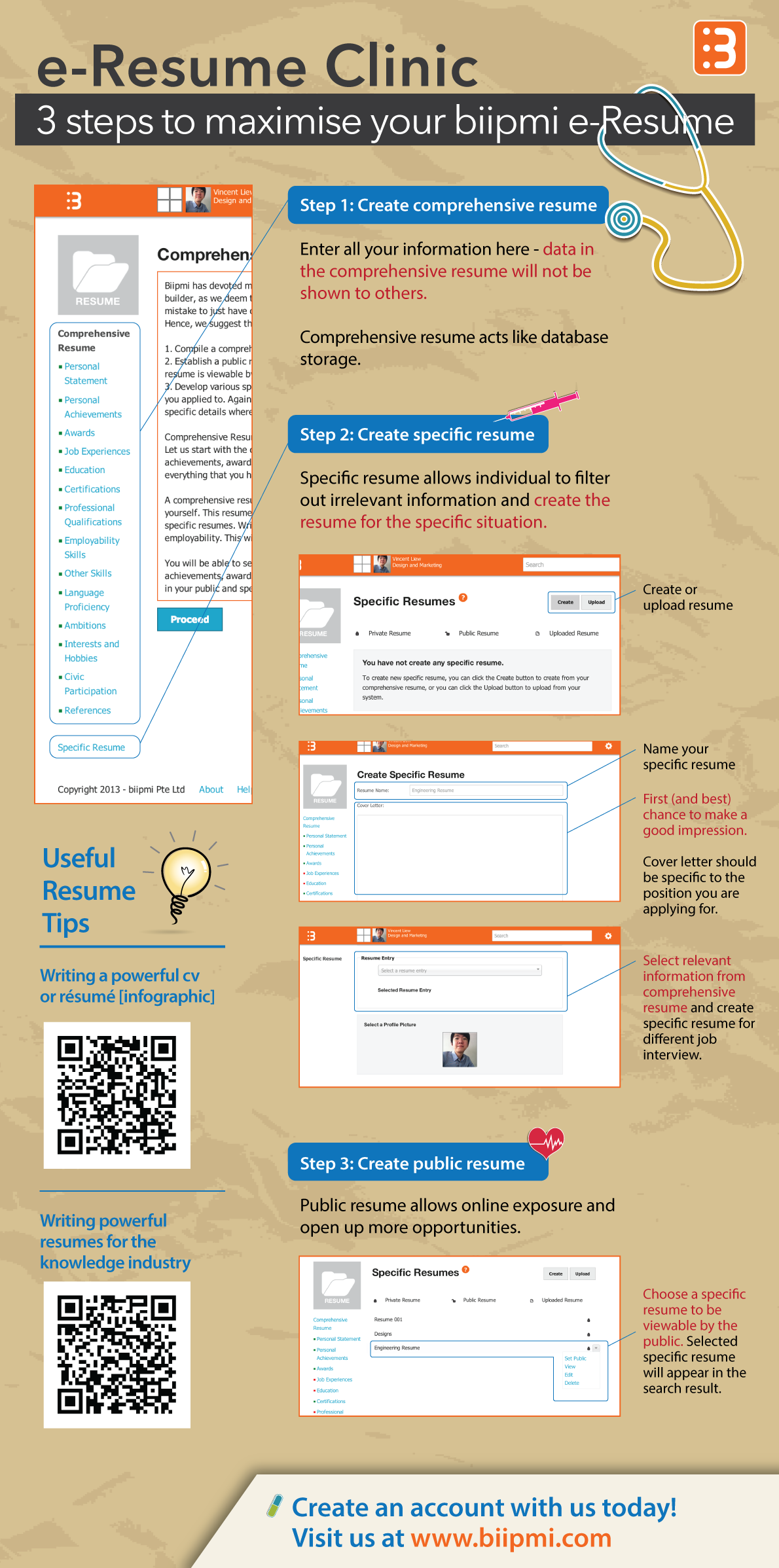 e resume builder template e resume clinic infographic e resume builder