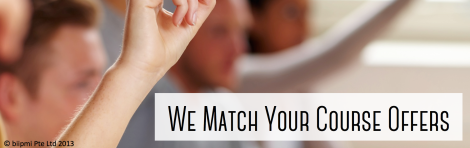 We Match Your Course Offers