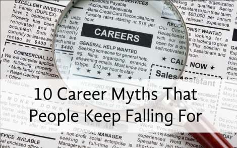 10 Myths Career